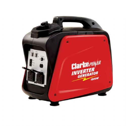 Clarke IG2000B Leisure Inverter Petrol Generator 1 x 12VDC And 2 x 230V~50Hz